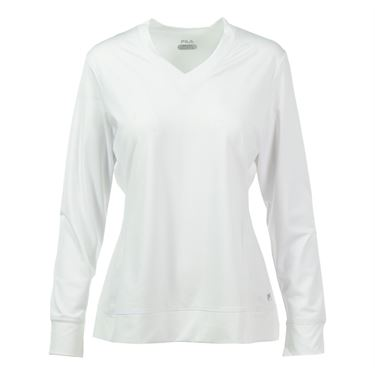 Fila Core Long Sleeve Top - White