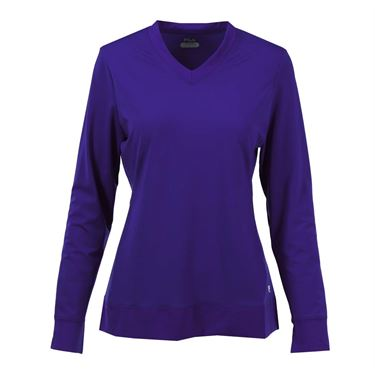 Fila Core Long Sleeve Top - Purple