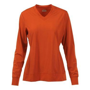 Fila Core Long Sleeve Top - Team Orange