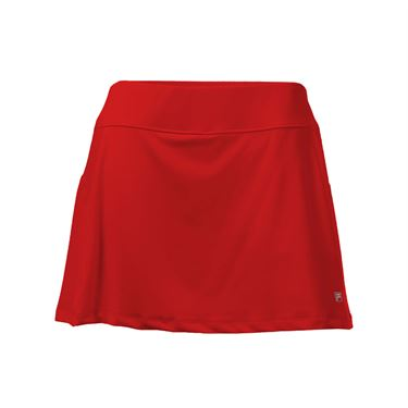 Fila Core A Line Skirt - Poppy Red