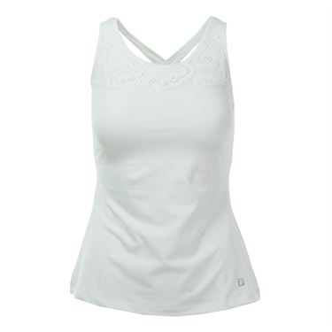 Fila Lure of the Lace Criss Cross Back Tank - White