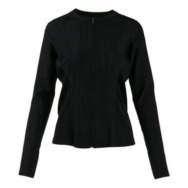 Fila Sleek Streak Jacket - Black/Ruby Rose