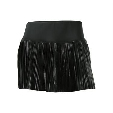 Fila Sleek Streak Pleated Skirt - Black