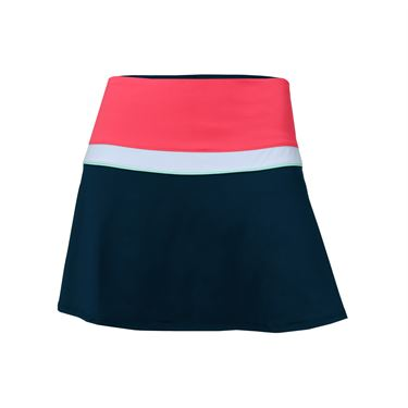 Fila Heritage Colorblocked Skirt - Diva Pink/White/Navy