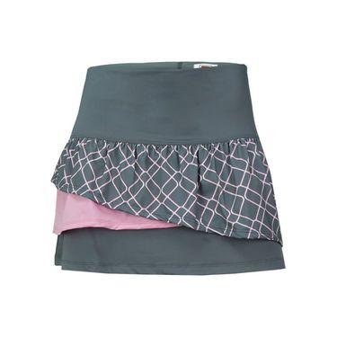 Fila Simply Smashing Skirt - Granite Grey/Elite Print
