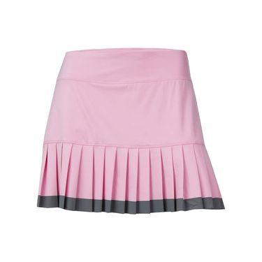 Fila Simply Smashing Pleated Skirt - Prism Pink/Granite Grey