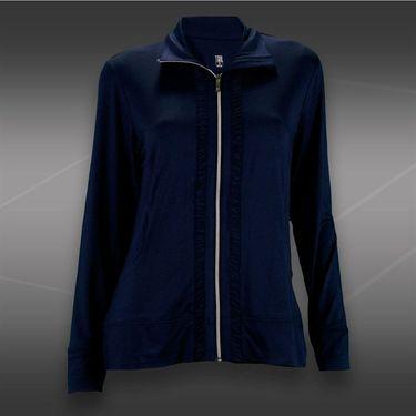 Tail Blue Court Zip Up Jacket-Navy Blue