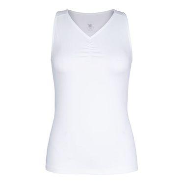 Tail Essential V Neck Tank - White