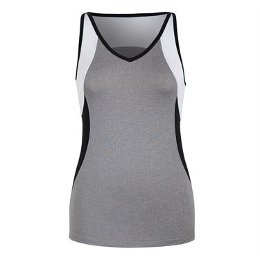 Tail Judy Essentials V Neck Tank - Frosted Heather