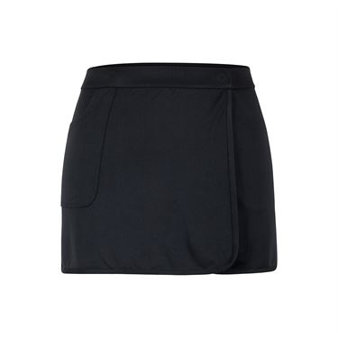 Tail Tate Essentials Colorblock Ruffle Skirt - Black