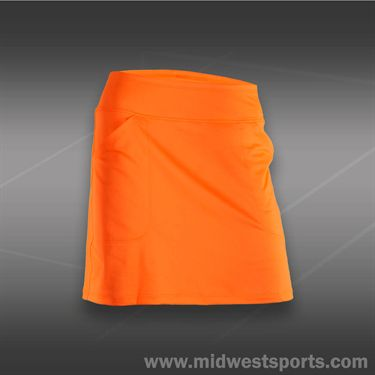 JoFit Lanai Mina Skirt-Orange Crush