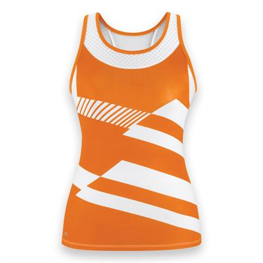 DUC Sonar Racerback Tank-Orange