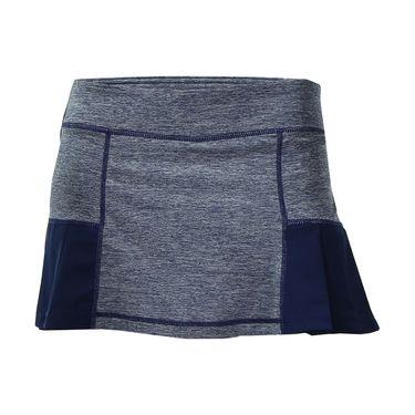 Head Pleated Marled Skirt - Medieval Blue