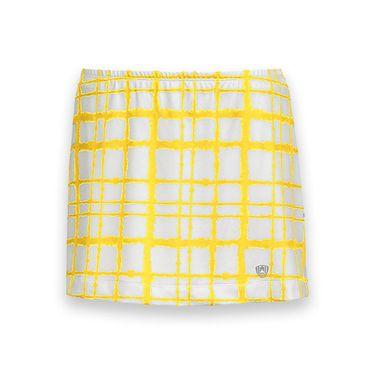 DUC Chaos Printed Tennis Skirt - White/Gold