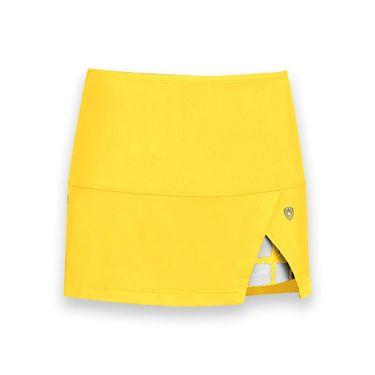 DUC Peek a boo Power Skirt - Gold/White