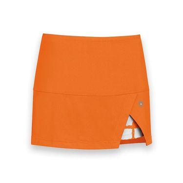 DUC Peek a boo Power Skirt - Orange/White