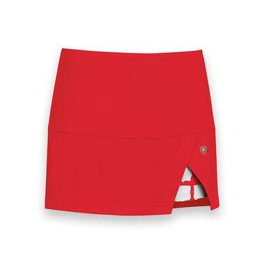 DUC Peek a boo Power Skirt - Red/White