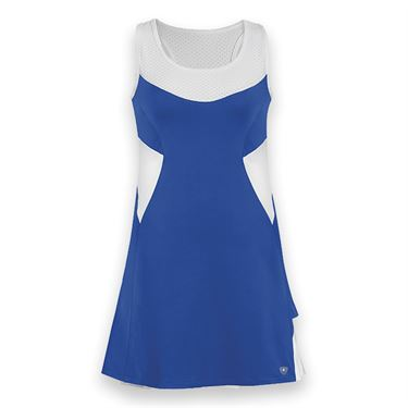 DUC Tease Tennis Dress - Royal/White