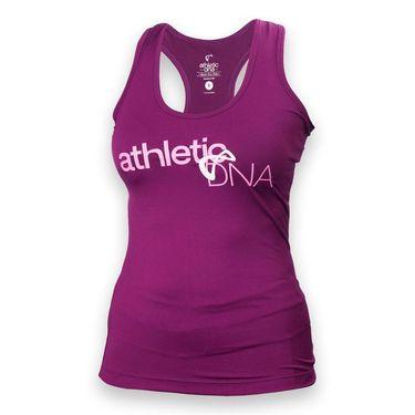 Athletic DNA Entwine Refresh Sport Tank - Magenta Purple