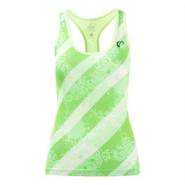Athletic DNA Refresh Sport Tank - Lime