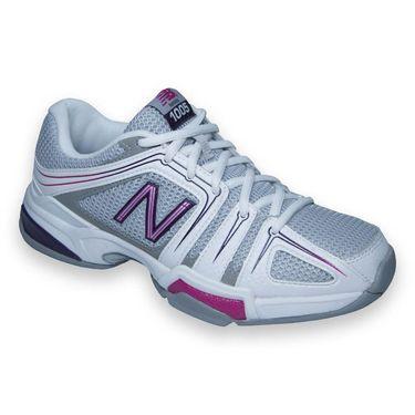 New Balance WC1005PB (D) Womens Tennis Shoe-Grey/Pink