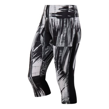 Asics Printed Capri - Black/Glitch Print