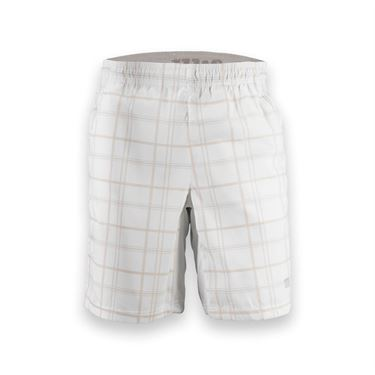 Wilson Rush Plaid 10 Inch Short-White