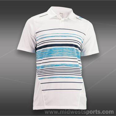 Wilson Specialist Chest Stripe Polo-White