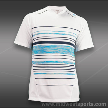 Wilson Specialist Chest Stripe Crew-White