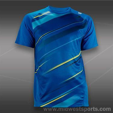 Wilson Cardiff Blur Stripe Crew-Blue