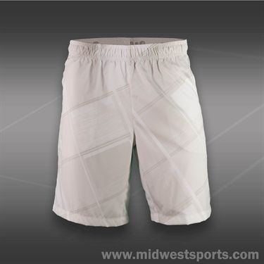 Wilson Cardiff Plaid 10 Inch Short-White
