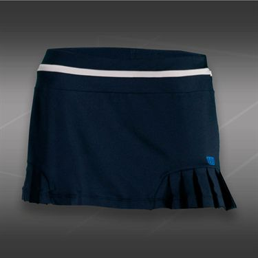 Wilson Specialist Pleated Skirt-Mid Navy