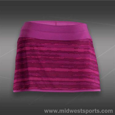 Wilson Cardiff Wavy Print Skirt-New Fuchsia