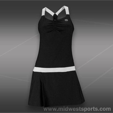 Wilson Tea Lawn Dress-Black