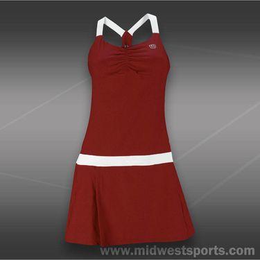 Wilson Tea Lawn Dress-Cardinal