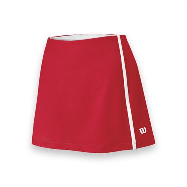 Wilson Team Tennis Skirt - Red