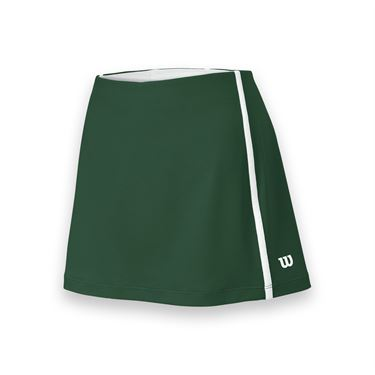 Wilson Team Tennis Skirt - Forest Green