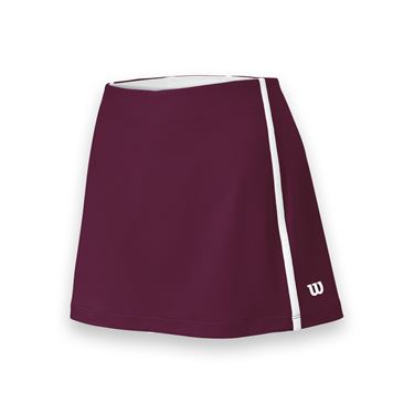 Wilson Team Tennis Skirt - Cardinal