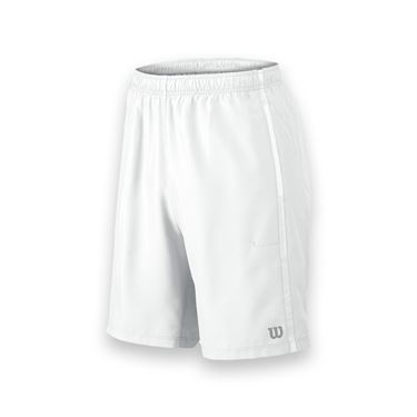 Wilson Team 10 Inch Woven Short - White