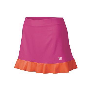 Wilson Star Ruffle Woven 12.5 Inch Skirt - Rose Violet/Nasturtium