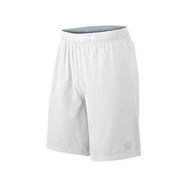 Wilson Woven Knit 9 Inch Short - White