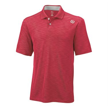 Wilson Textured Polo - Formula One/Silver