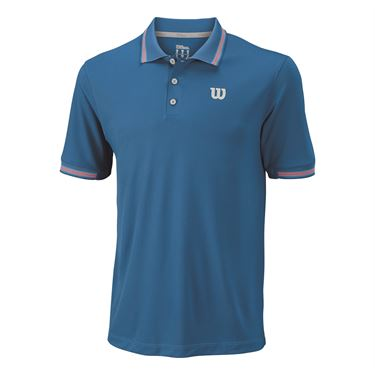 Wilson Star Tipped Polo - Deep Water