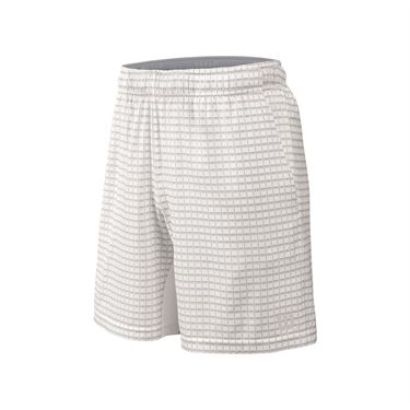 Wilson Outline 8 Inch Short - White/Pearl Grey