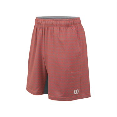 Wilson Labyrinth 8 Inch Short - Hot Coral/Tradewinds