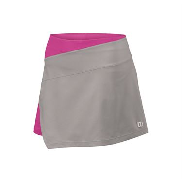 Wilson Woven Panel 12.5 Inch Skirt - Trade Winds/Rose Violet