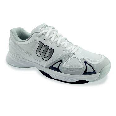 Wilson Rush Evo Mens Tennis Shoe - White/Pearl Blue