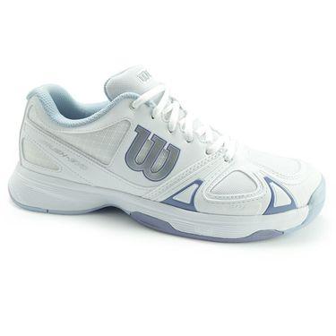 Wilson Rush Evo Womens Tennis Shoe - White/Stonewash