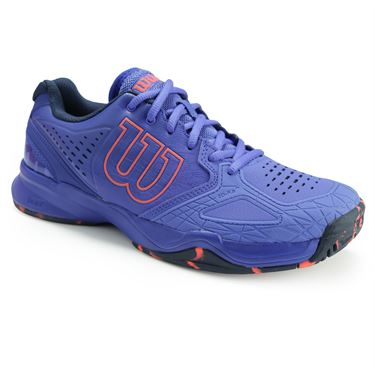 Wilson Kaos Comp Womens Tennis Shoe - Amparo Blue/Surf the Web