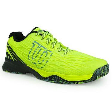 Wilson Kaos Mens Tennis Shoe - Safety Yellow/Black/Arctic